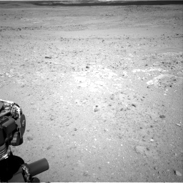 Nasa's Mars rover Curiosity acquired this image using its Right Navigation Camera on Sol 385, at drive 882, site number 15