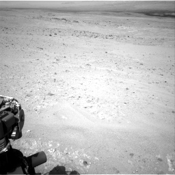 Nasa's Mars rover Curiosity acquired this image using its Right Navigation Camera on Sol 385, at drive 972, site number 15