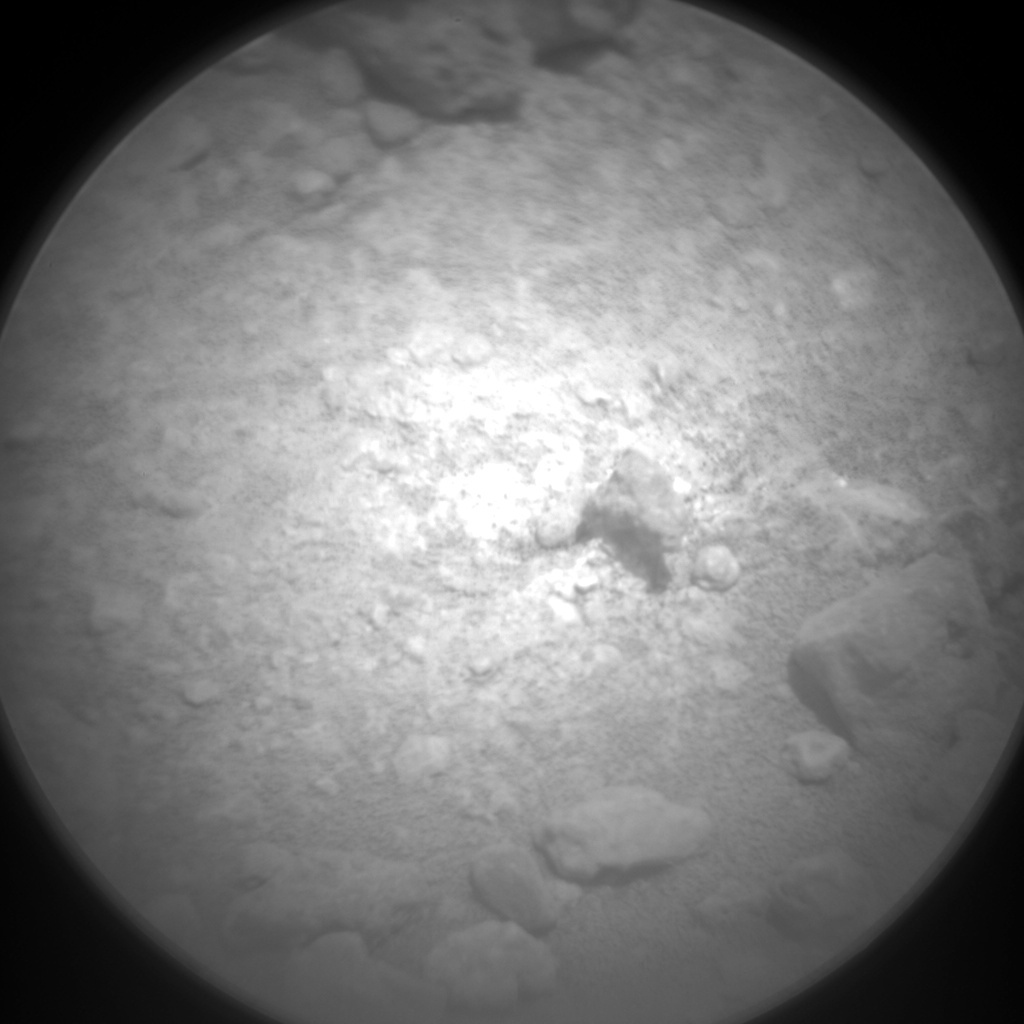 NASA's Mars rover Curiosity acquired this image using its Chemistry & Camera (ChemCam) on Sol 386