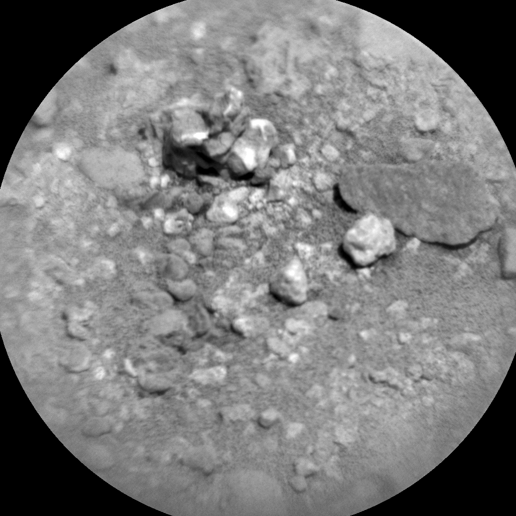 Nasa's Mars rover Curiosity acquired this image using its Chemistry & Camera (ChemCam) on Sol 386, at drive 998, site number 15