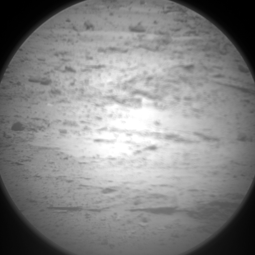 NASA's Mars rover Curiosity acquired this image using its Chemistry & Camera (ChemCam) on Sol 387