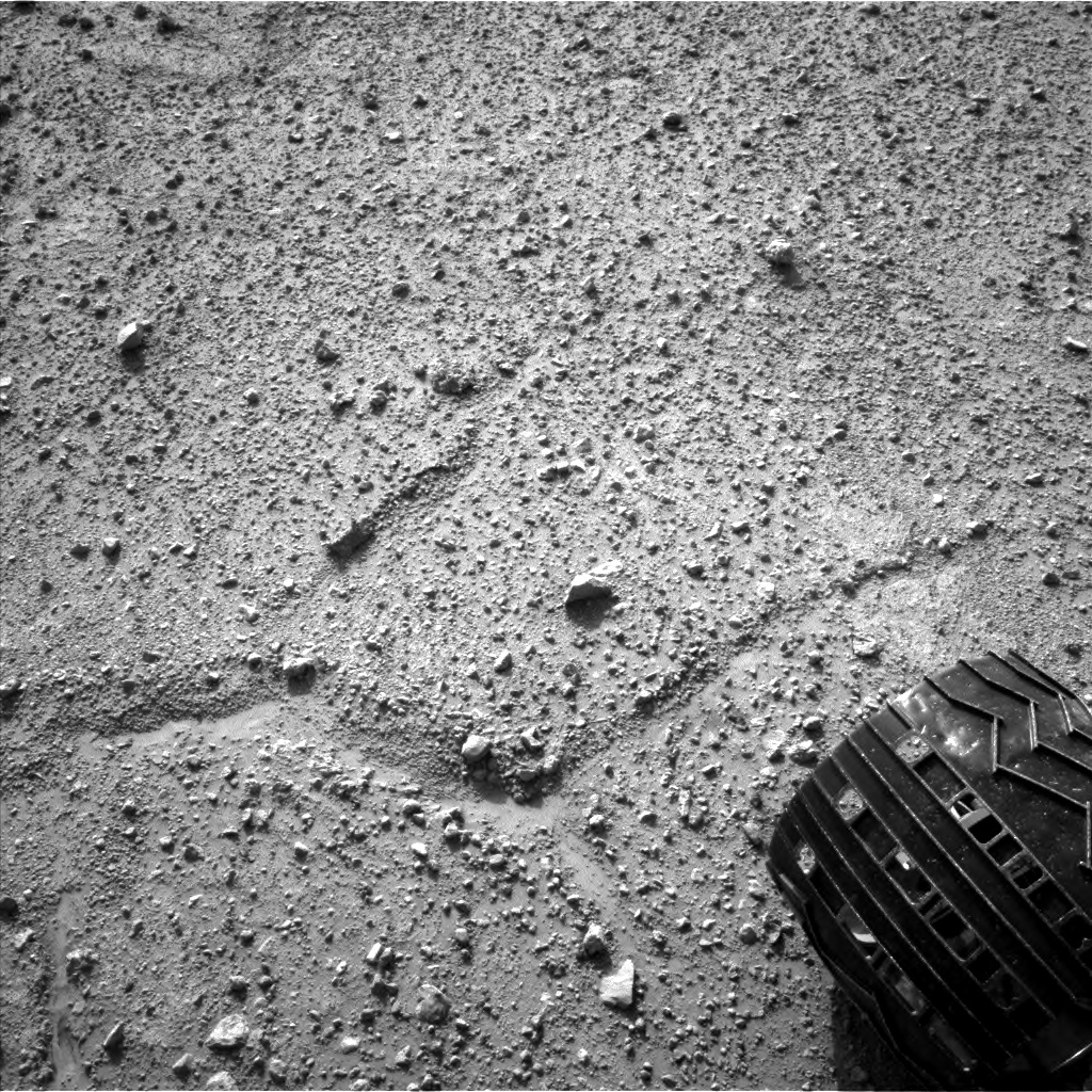 Nasa's Mars rover Curiosity acquired this image using its Left Navigation Camera on Sol 388, at drive 1230, site number 15