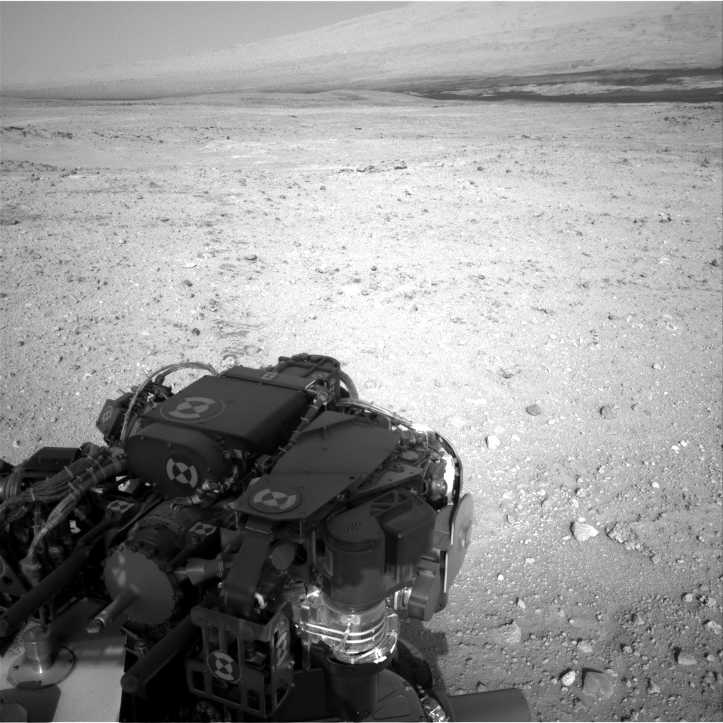 NASA's Mars rover Curiosity acquired this image using its Right Navigation Cameras (Navcams) on Sol 388
