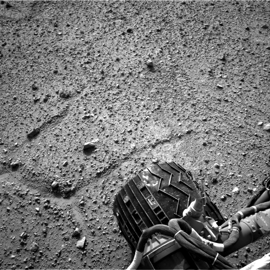 Nasa's Mars rover Curiosity acquired this image using its Right Navigation Camera on Sol 388, at drive 1230, site number 15