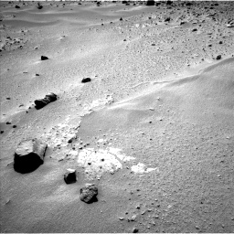 Nasa's Mars rover Curiosity acquired this image using its Left Navigation Camera on Sol 390, at drive 1656, site number 15
