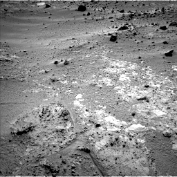 Nasa's Mars rover Curiosity acquired this image using its Left Navigation Camera on Sol 390, at drive 1746, site number 15