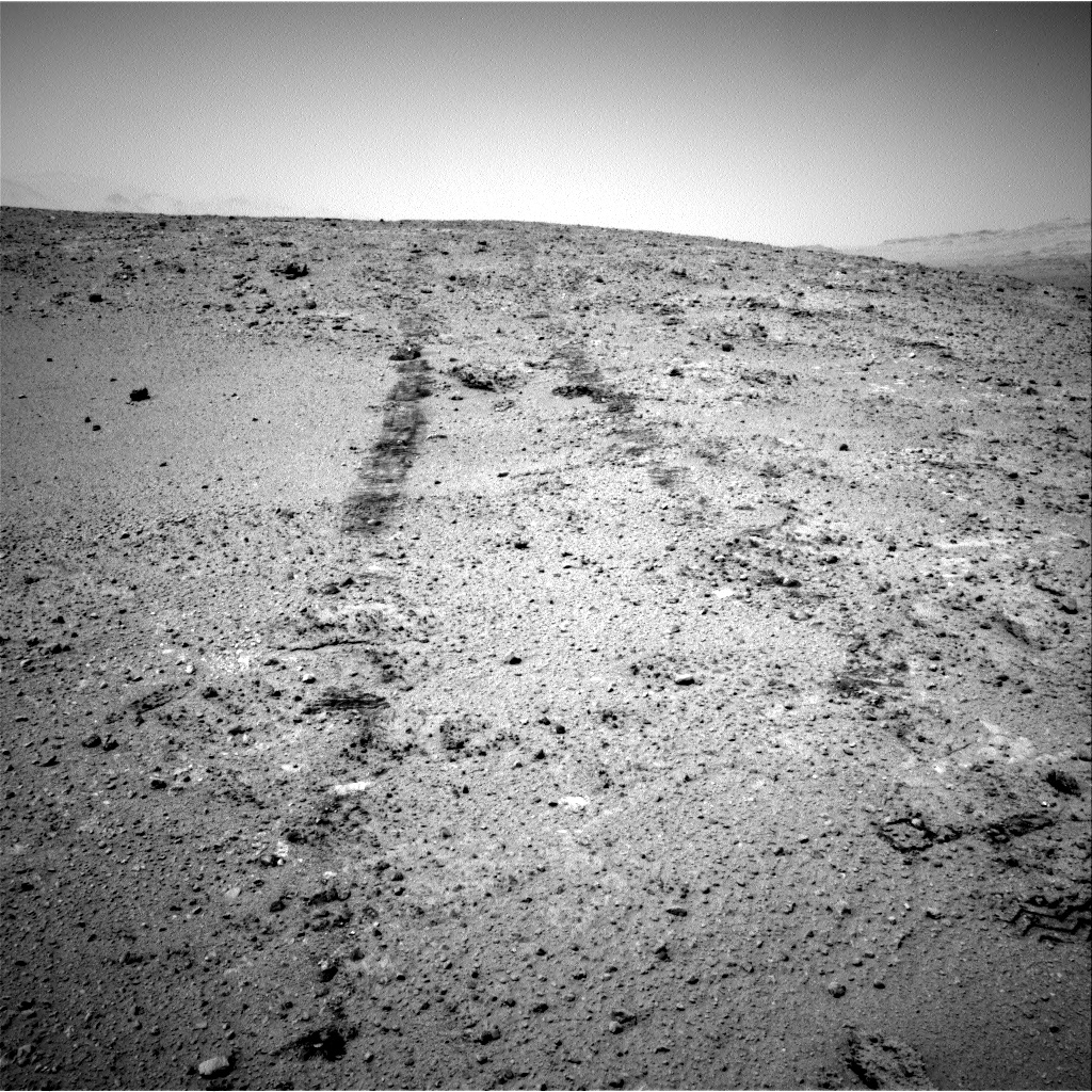 Nasa's Mars rover Curiosity acquired this image using its Right Navigation Camera on Sol 390, at drive 1458, site number 15