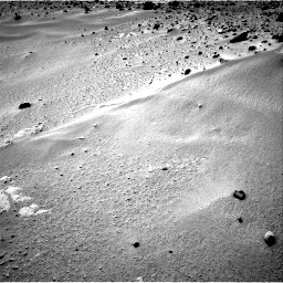 Nasa's Mars rover Curiosity acquired this image using its Right Navigation Camera on Sol 390, at drive 1650, site number 15