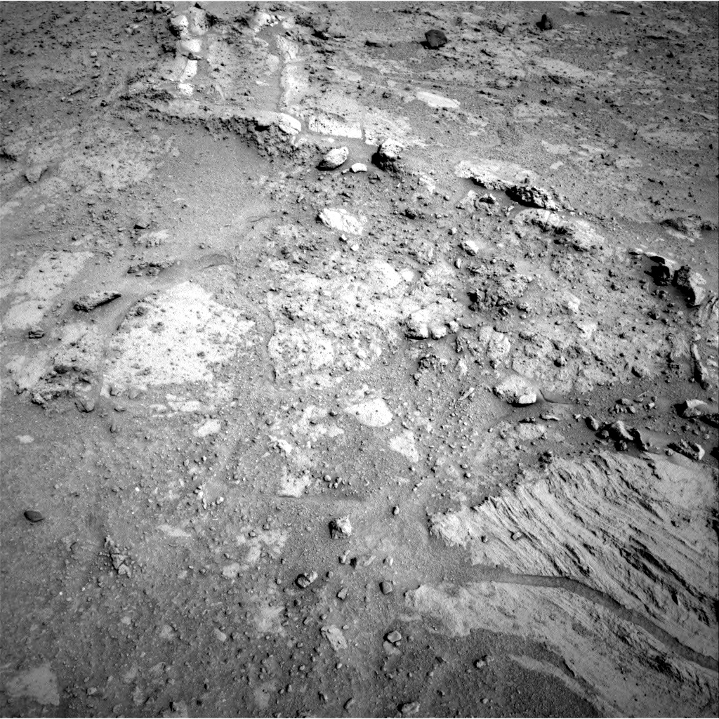 Nasa's Mars rover Curiosity acquired this image using its Right Navigation Camera on Sol 390, at drive 1698, site number 15