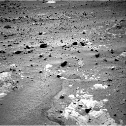 Nasa's Mars rover Curiosity acquired this image using its Right Navigation Camera on Sol 390, at drive 1710, site number 15