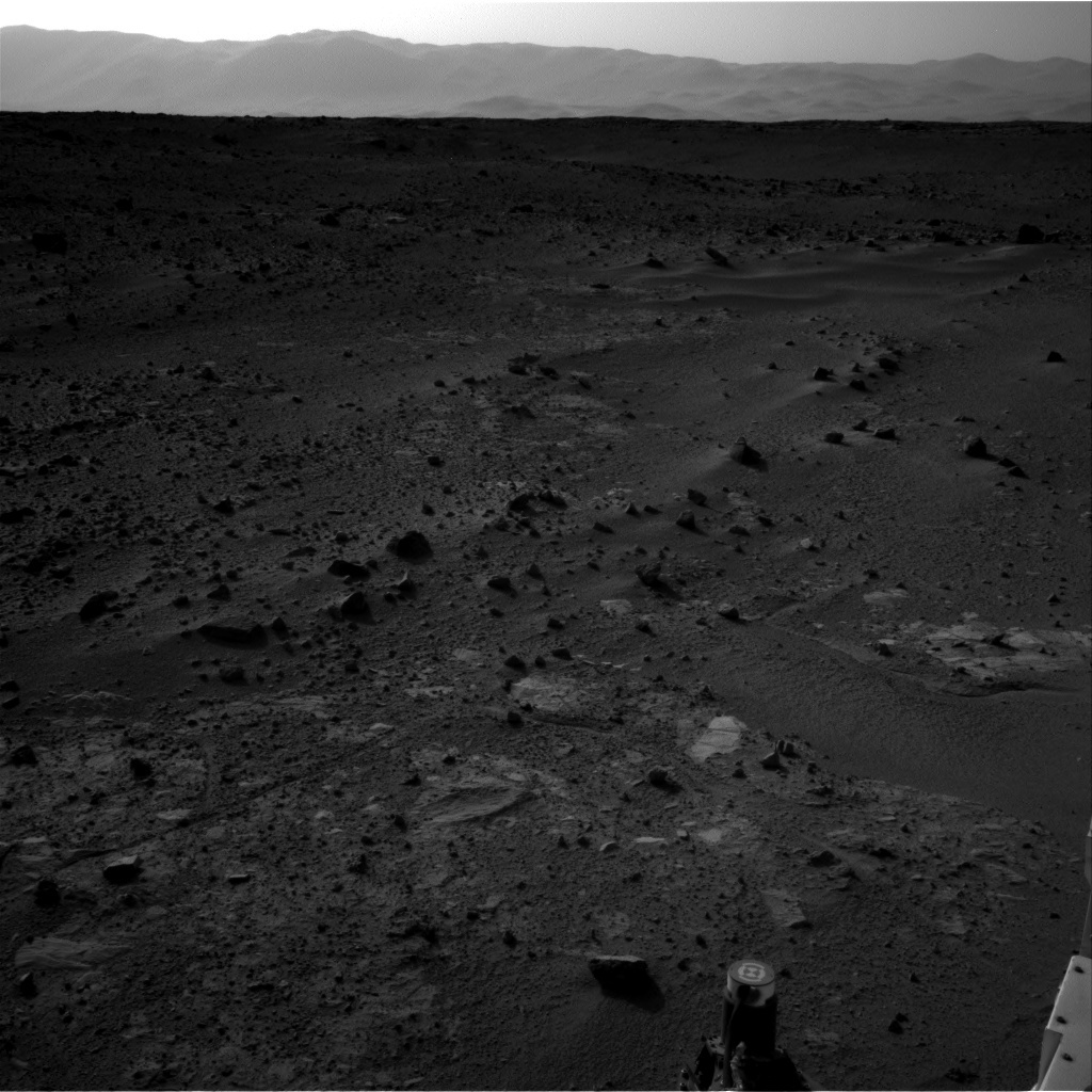 NASA's Mars rover Curiosity acquired this image using its Right Navigation Cameras (Navcams) on Sol 390