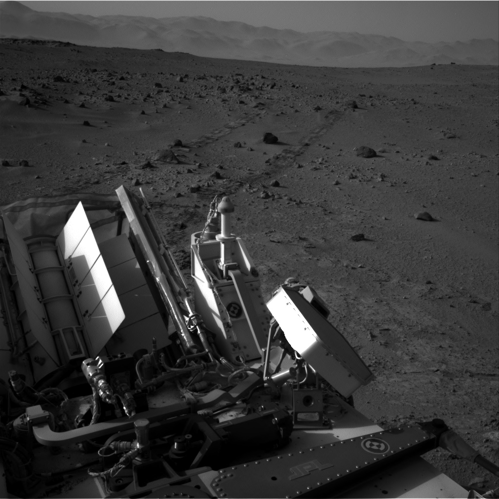 Nasa's Mars rover Curiosity acquired this image using its Right Navigation Camera on Sol 390, at drive 0, site number 16
