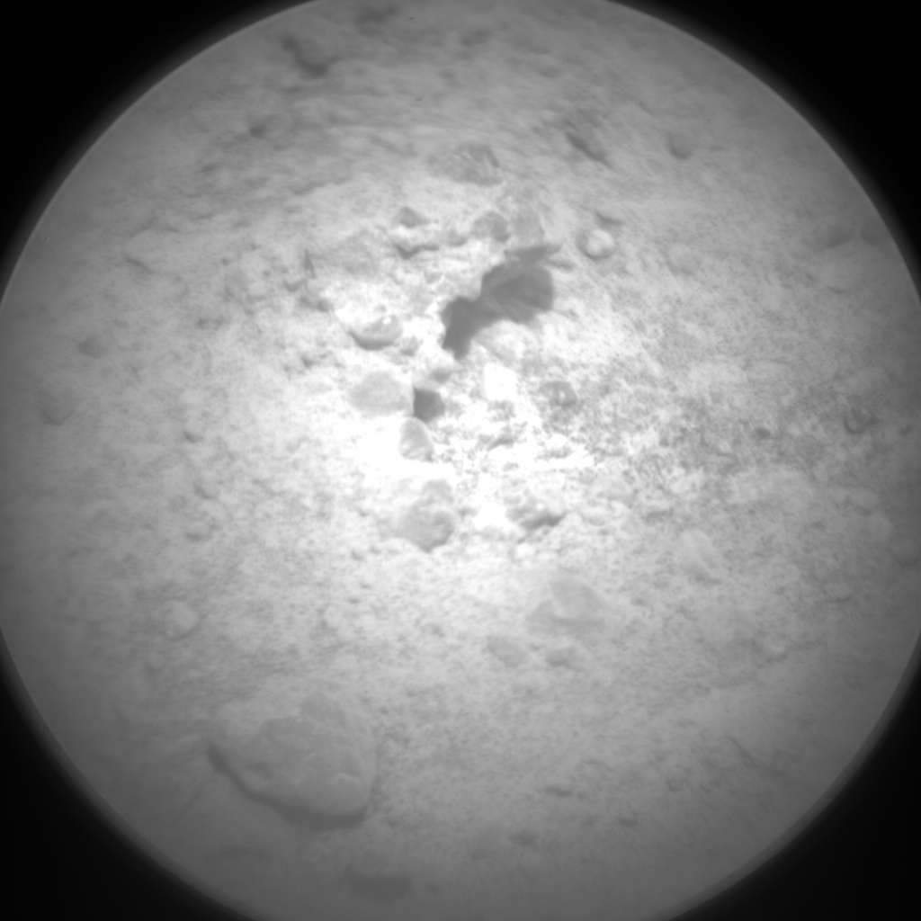 NASA's Mars rover Curiosity acquired this image using its Chemistry & Camera (ChemCam) on Sol 391