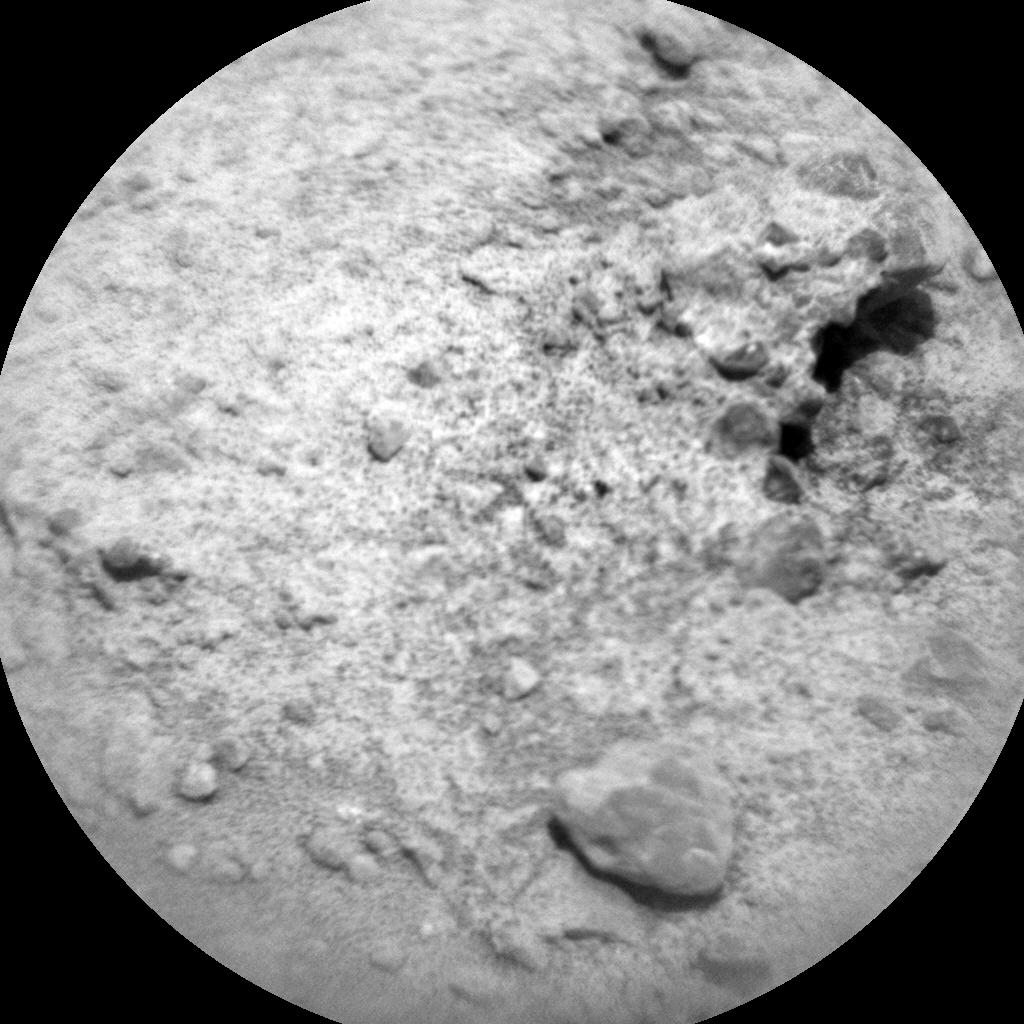 Nasa's Mars rover Curiosity acquired this image using its Chemistry & Camera (ChemCam) on Sol 391, at drive 0, site number 16
