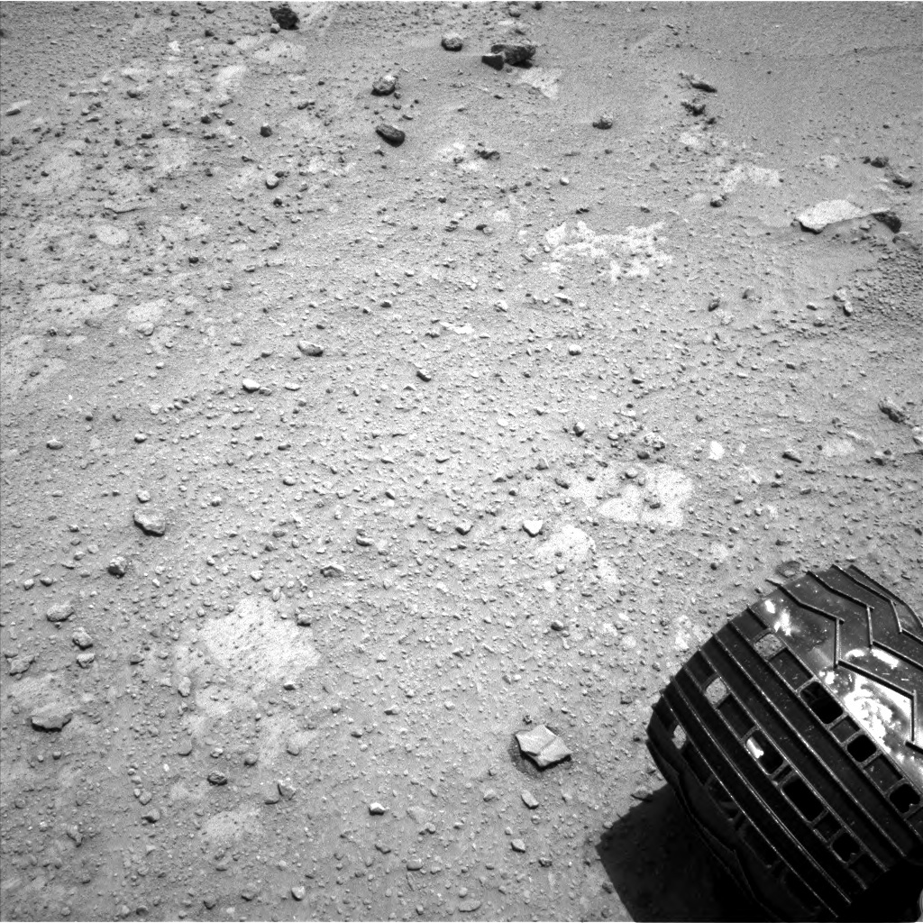 NASA's Mars rover Curiosity acquired this image using its Left Navigation Camera (Navcams) on Sol 392