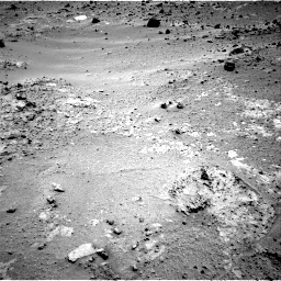 NASA's Mars rover Curiosity acquired this image using its Right Navigation Cameras (Navcams) on Sol 392
