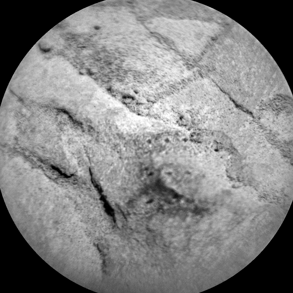 Nasa's Mars rover Curiosity acquired this image using its Chemistry & Camera (ChemCam) on Sol 392, at drive 0, site number 16