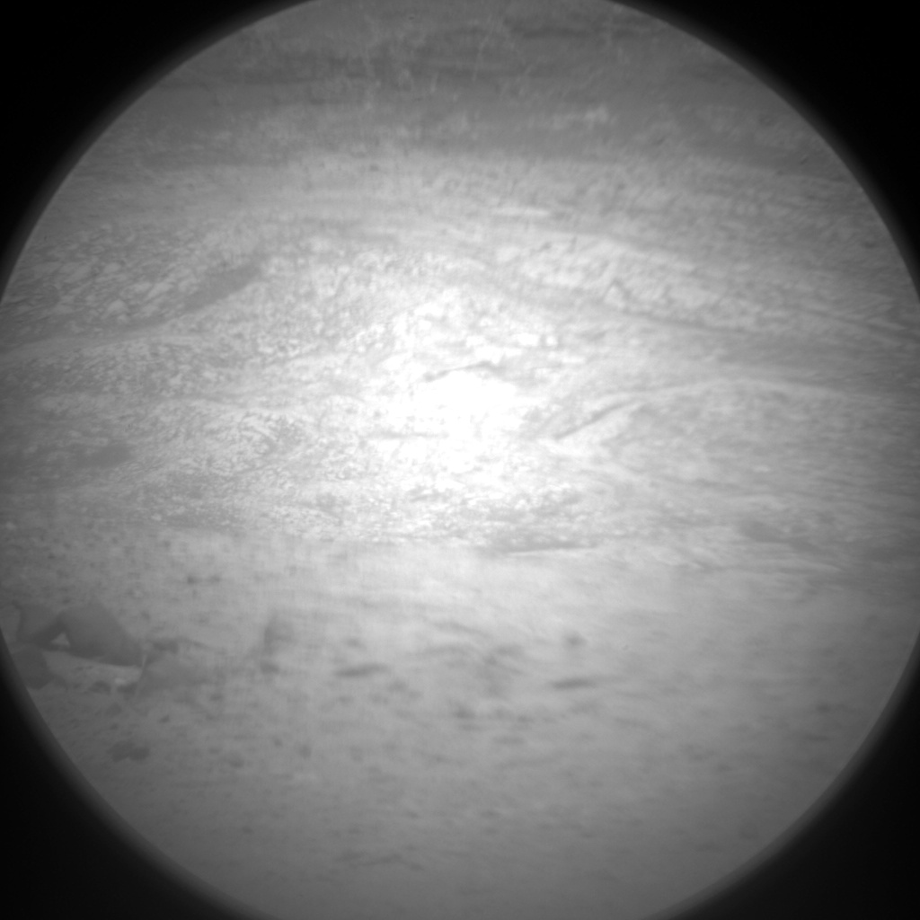 Nasa's Mars rover Curiosity acquired this image using its Chemistry & Camera (ChemCam) on Sol 396, at drive 50, site number 16