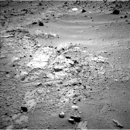 Nasa's Mars rover Curiosity acquired this image using its Left Navigation Camera on Sol 396, at drive 98, site number 16