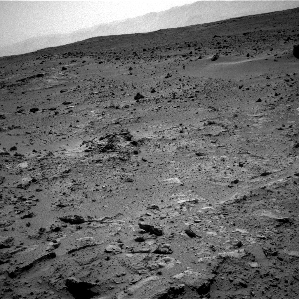 Nasa's Mars rover Curiosity acquired this image using its Left Navigation Camera on Sol 396, at drive 148, site number 16