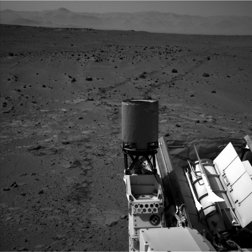 NASA's Mars rover Curiosity acquired this image using its Left Navigation Camera (Navcams) on Sol 396