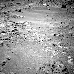 Nasa's Mars rover Curiosity acquired this image using its Right Navigation Camera on Sol 396, at drive 80, site number 16