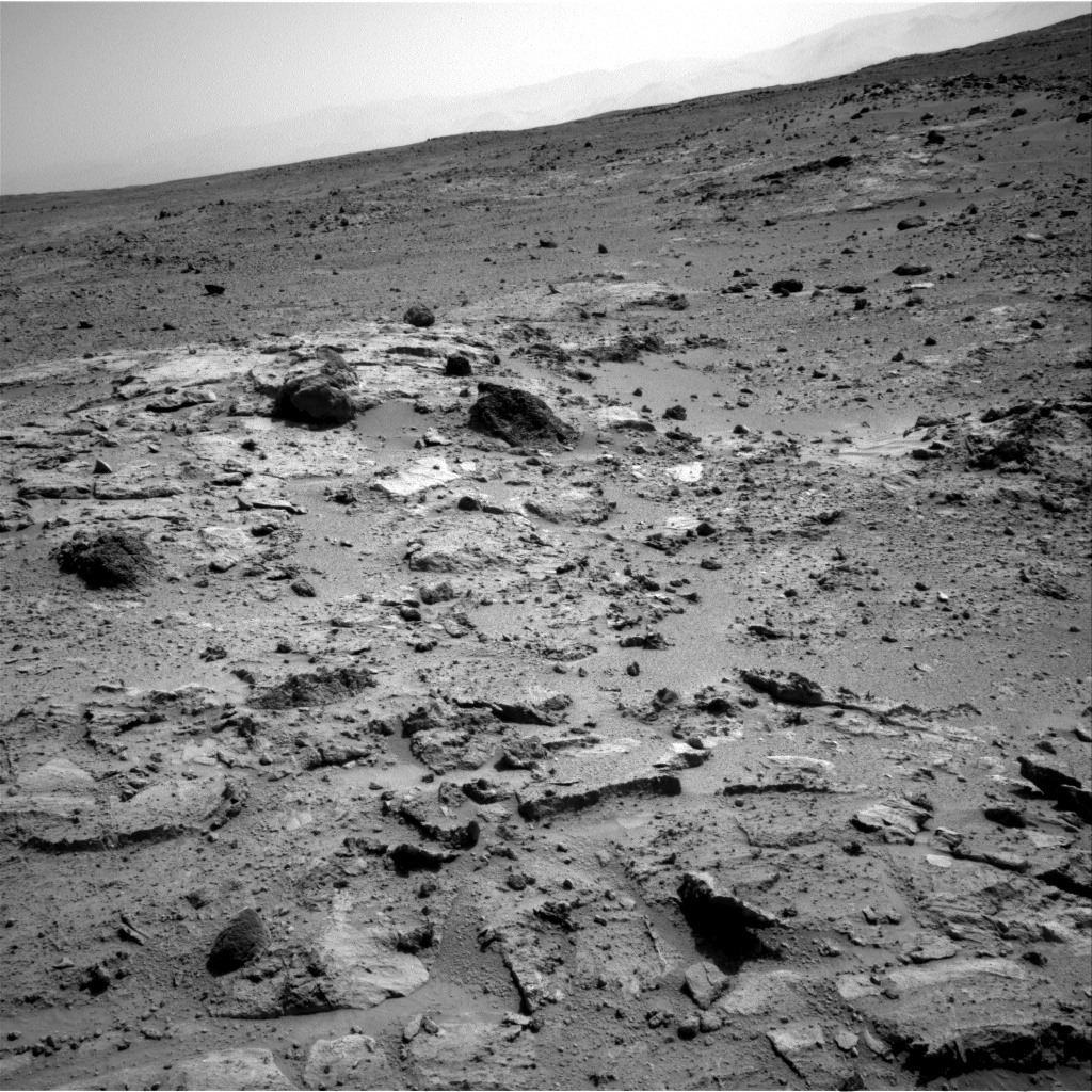 Nasa's Mars rover Curiosity acquired this image using its Right Navigation Camera on Sol 396, at drive 148, site number 16
