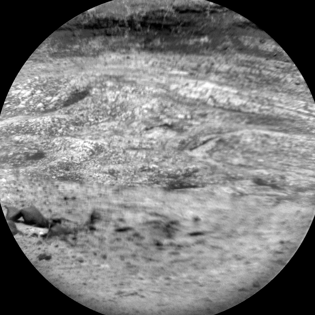 NASA's Mars rover Curiosity acquired this image using its Chemistry & Camera (ChemCam) on Sol 396