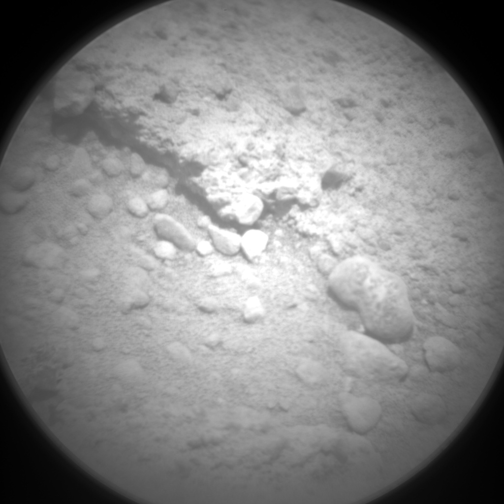 NASA's Mars rover Curiosity acquired this image using its Chemistry & Camera (ChemCam) on Sol 397