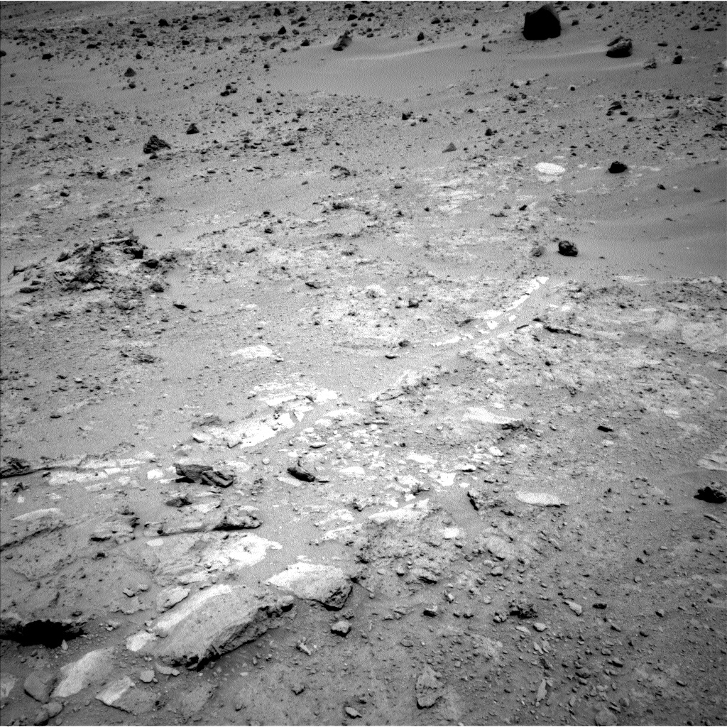 Nasa's Mars rover Curiosity acquired this image using its Left Navigation Camera on Sol 397, at drive 148, site number 16