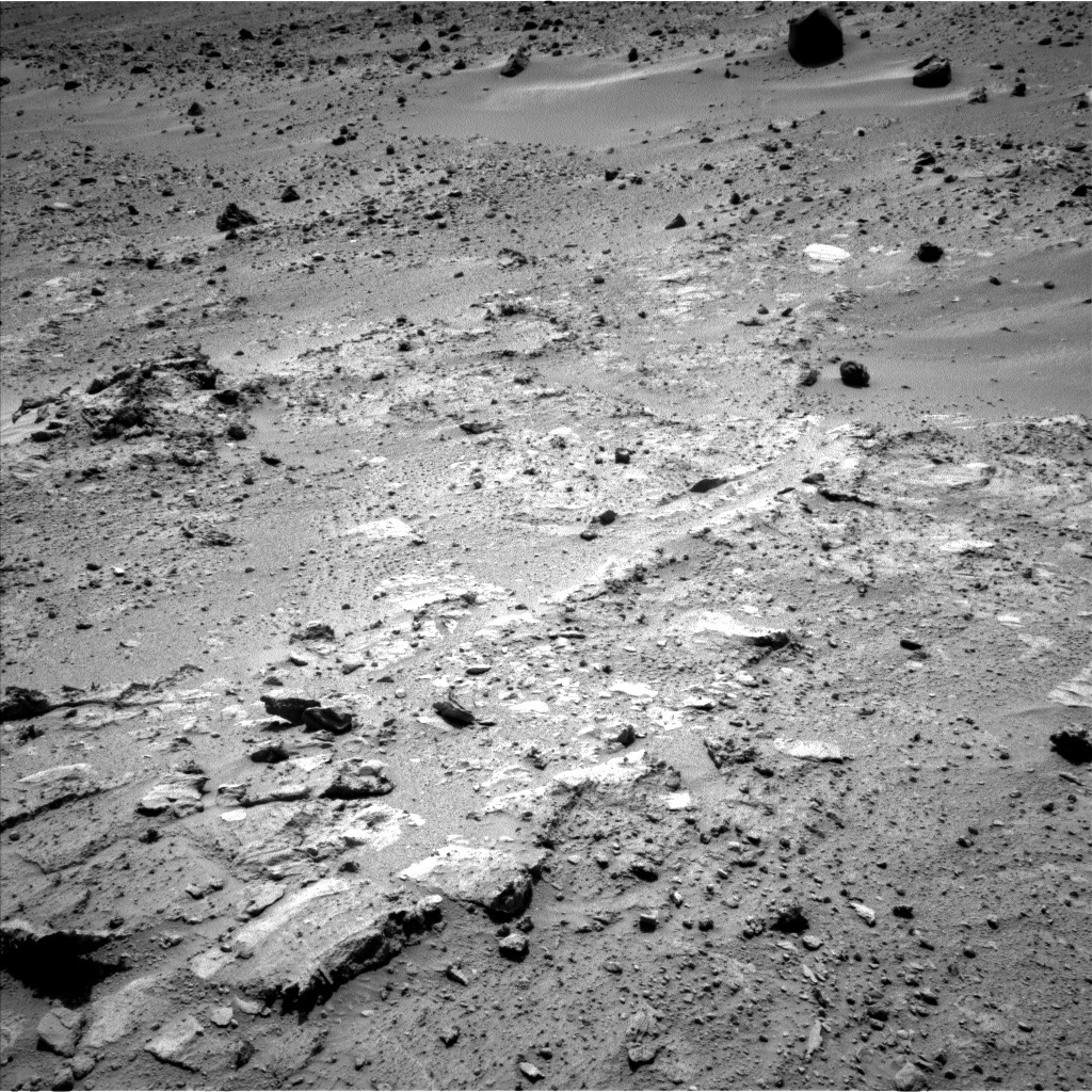 NASA's Mars rover Curiosity acquired this image using its Left Navigation Camera (Navcams) on Sol 397