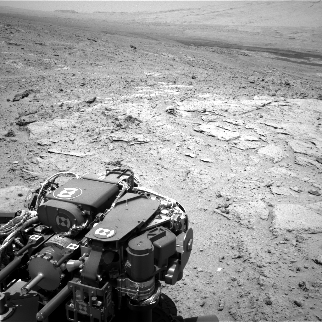 NASA's Mars rover Curiosity acquired this image using its Right Navigation Cameras (Navcams) on Sol 397