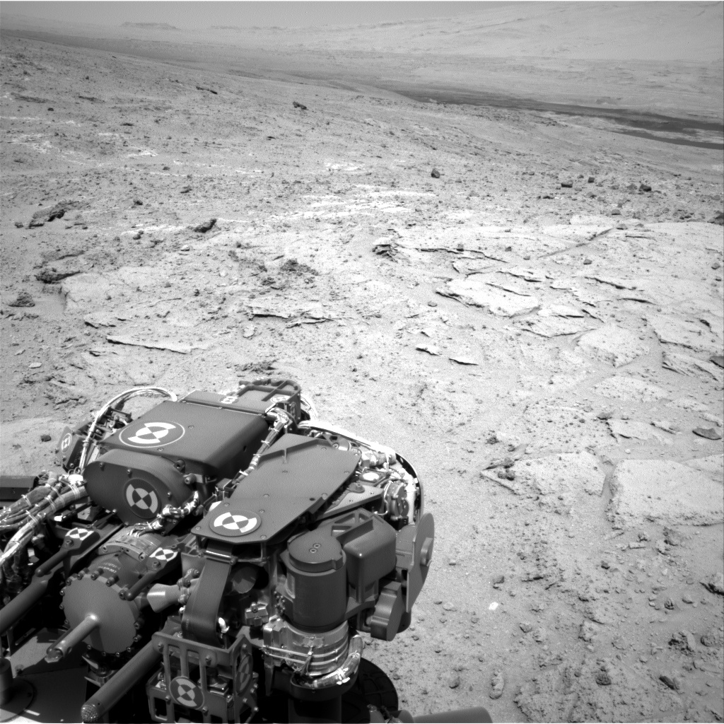Nasa's Mars rover Curiosity acquired this image using its Right Navigation Camera on Sol 397, at drive 148, site number 16