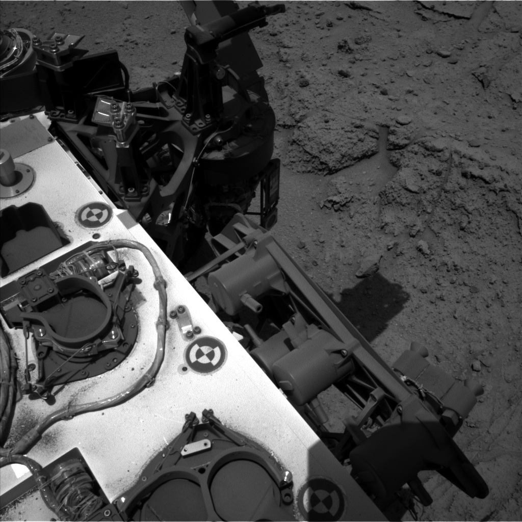 Nasa's Mars rover Curiosity acquired this image using its Left Navigation Camera on Sol 398, at drive 148, site number 16