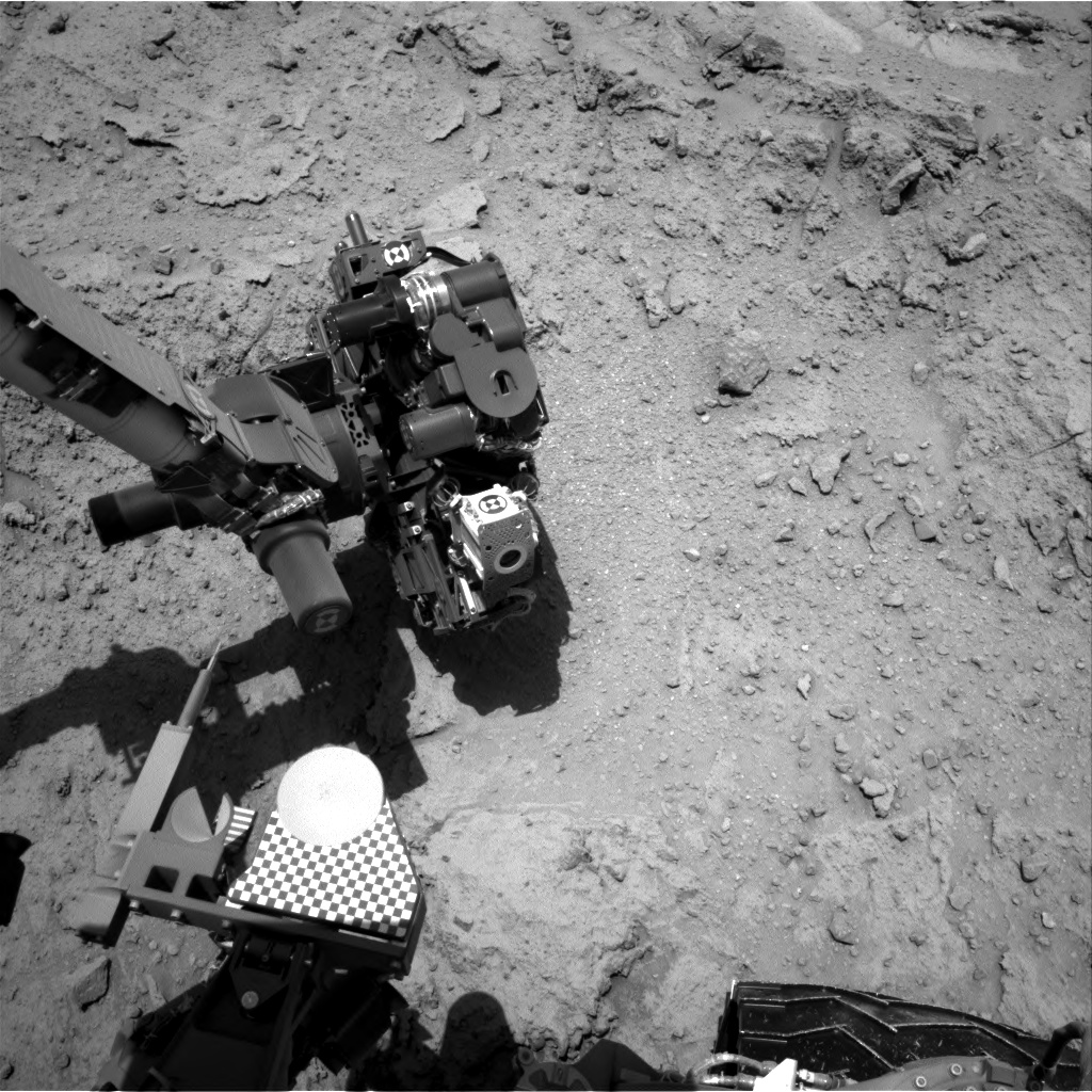 Nasa's Mars rover Curiosity acquired this image using its Right Navigation Camera on Sol 398, at drive 148, site number 16