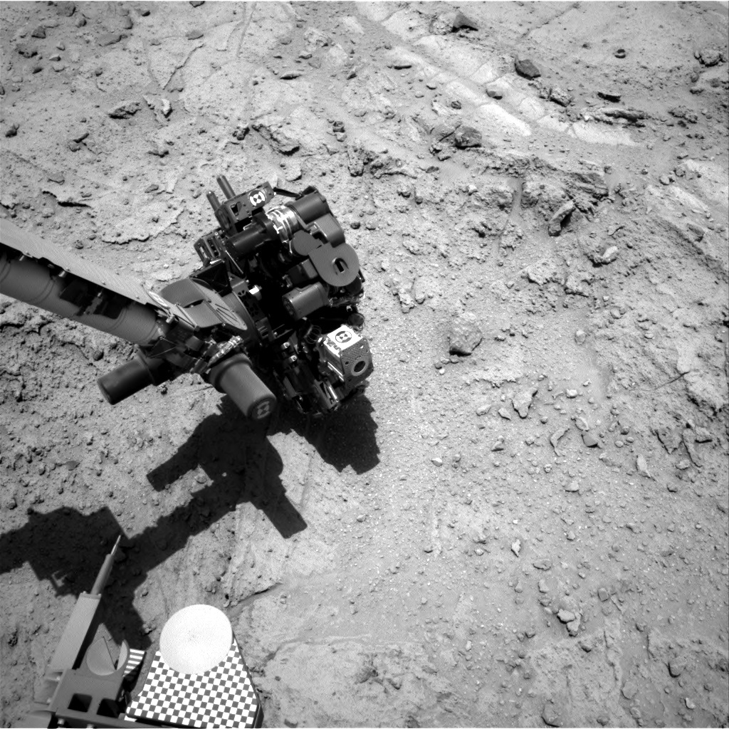 NASA's Mars rover Curiosity acquired this image using its Right Navigation Cameras (Navcams) on Sol 398