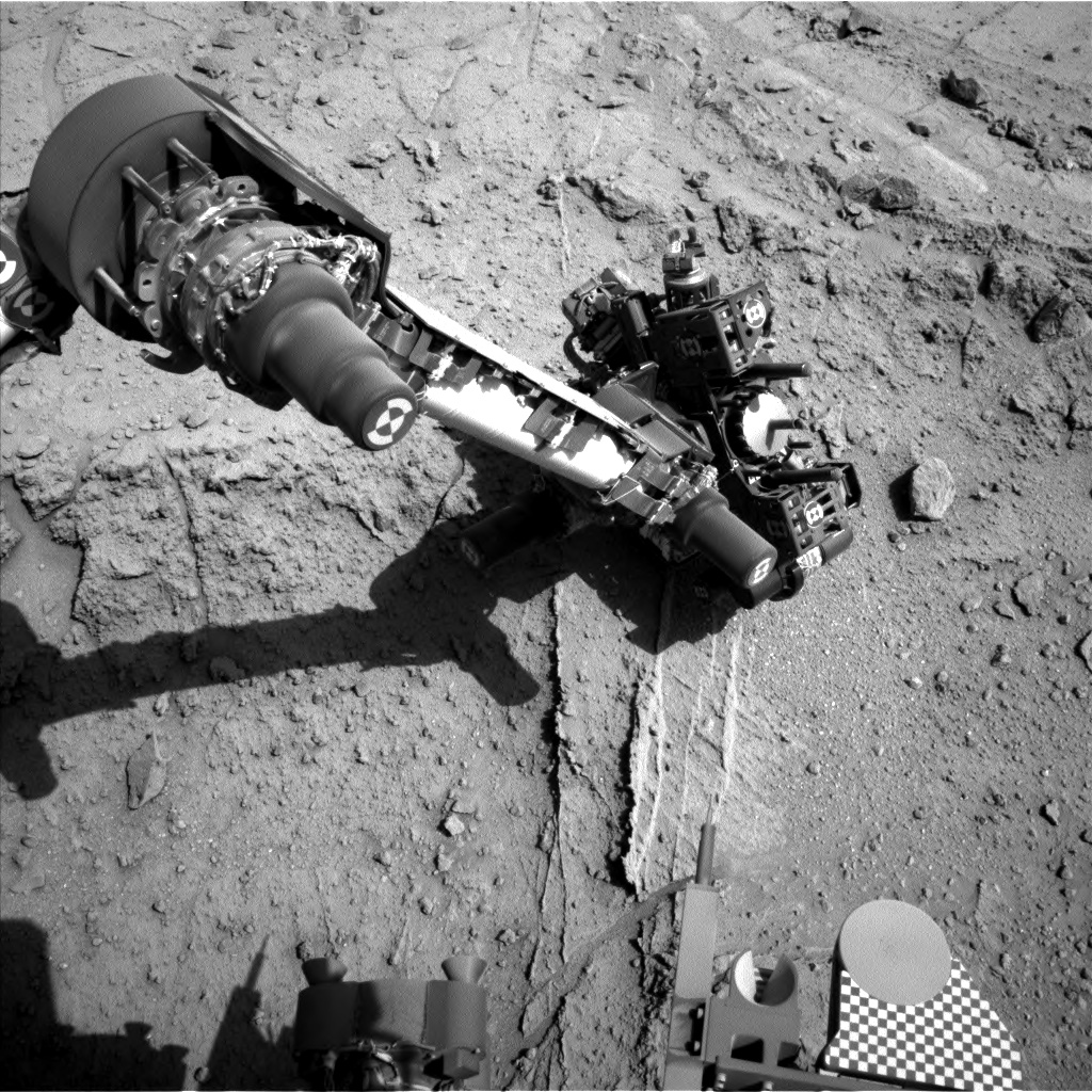 Nasa's Mars rover Curiosity acquired this image using its Left Navigation Camera on Sol 400, at drive 148, site number 16