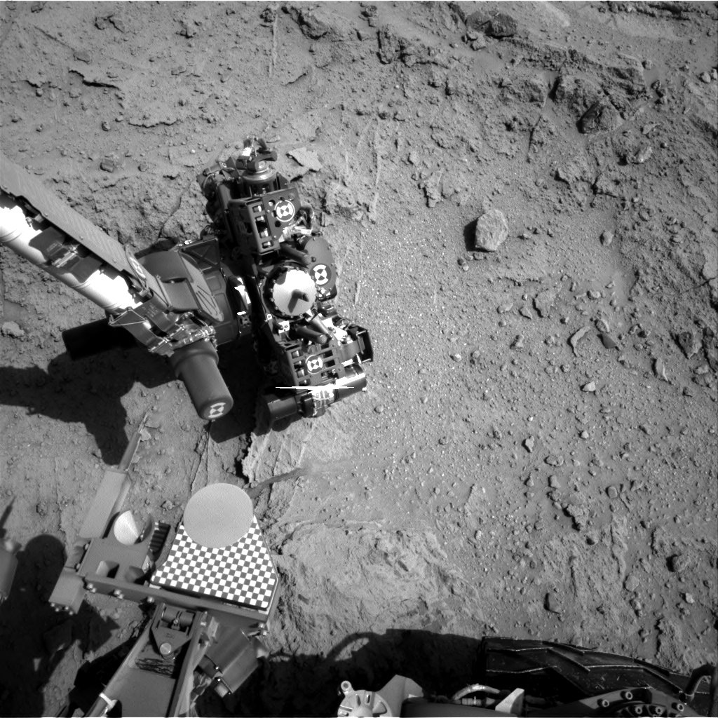 Nasa's Mars rover Curiosity acquired this image using its Right Navigation Camera on Sol 400, at drive 148, site number 16