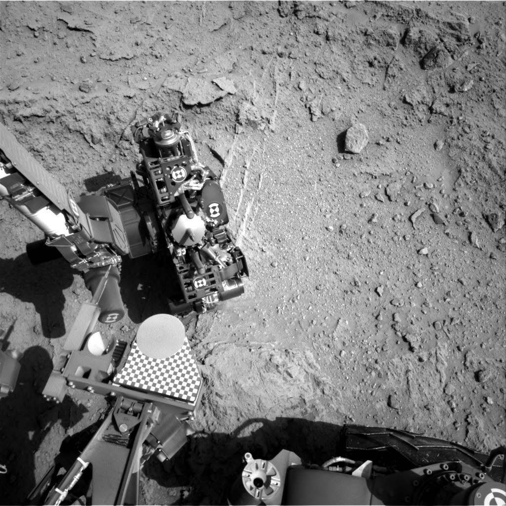 NASA's Mars rover Curiosity acquired this image using its Right Navigation Cameras (Navcams) on Sol 400