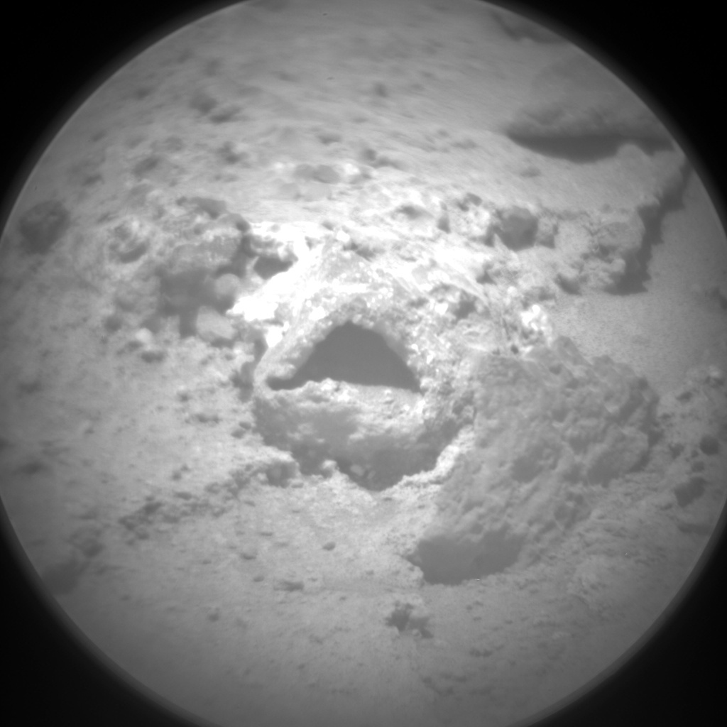 NASA's Mars rover Curiosity acquired this image using its Chemistry & Camera (ChemCam) on Sol 401