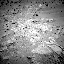 Nasa's Mars rover Curiosity acquired this image using its Left Navigation Camera on Sol 402, at drive 160, site number 16