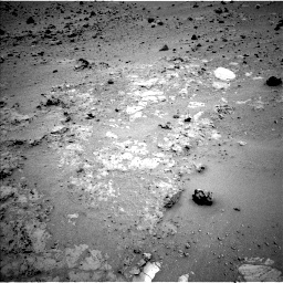 Nasa's Mars rover Curiosity acquired this image using its Left Navigation Camera on Sol 402, at drive 184, site number 16