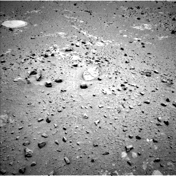 Nasa's Mars rover Curiosity acquired this image using its Left Navigation Camera on Sol 402, at drive 244, site number 16