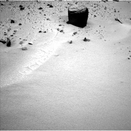 NASA's Mars rover Curiosity acquired this image using its Left Navigation Camera (Navcams) on Sol 402