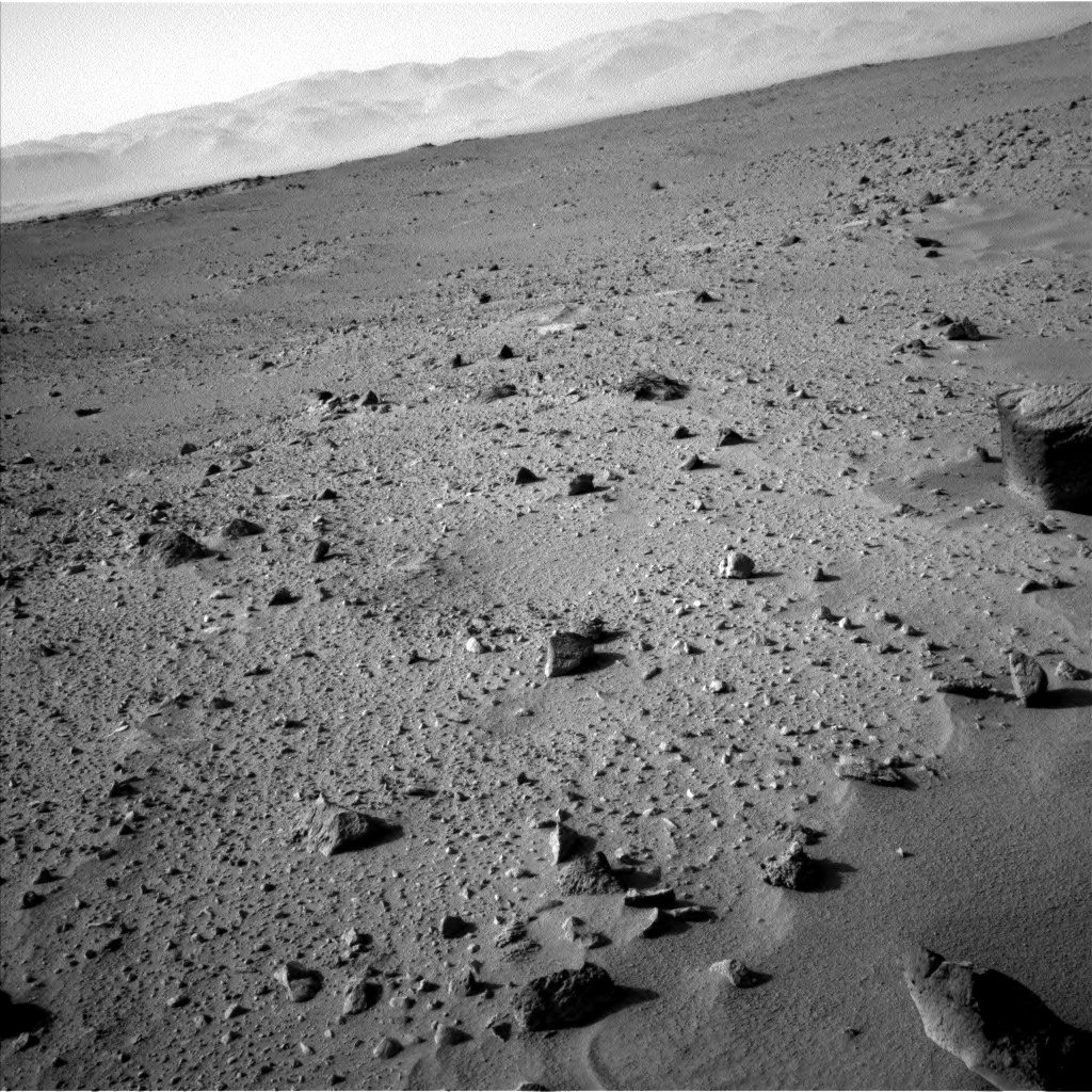 Nasa's Mars rover Curiosity acquired this image using its Left Navigation Camera on Sol 402, at drive 328, site number 16