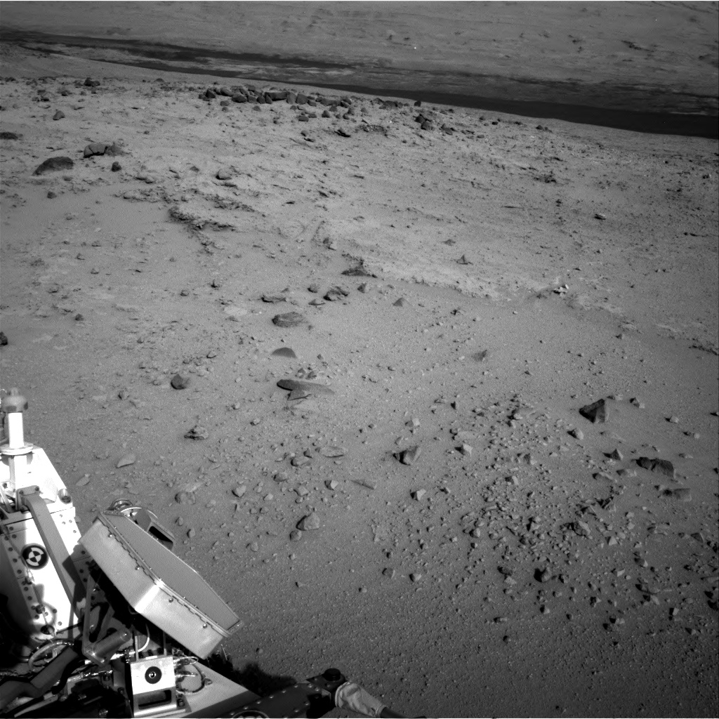 Nasa's Mars rover Curiosity acquired this image using its Right Navigation Camera on Sol 402, at drive 328, site number 16