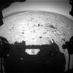Nasa's Mars rover Curiosity acquired this image using its Front Hazard Avoidance Camera (Front Hazcam) on Sol 403, at drive 556, site number 16