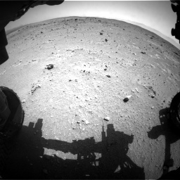 NASA's Mars rover Curiosity acquired this image using its Front Hazard Avoidance Cameras (Front Hazcams) on Sol 403