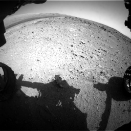 Nasa's Mars rover Curiosity acquired this image using its Front Hazard Avoidance Camera (Front Hazcam) on Sol 403, at drive 940, site number 16