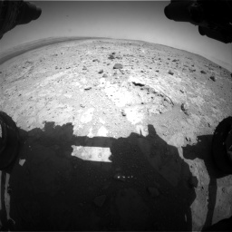 Nasa's Mars rover Curiosity acquired this image using its Front Hazard Avoidance Camera (Front Hazcam) on Sol 403, at drive 460, site number 16